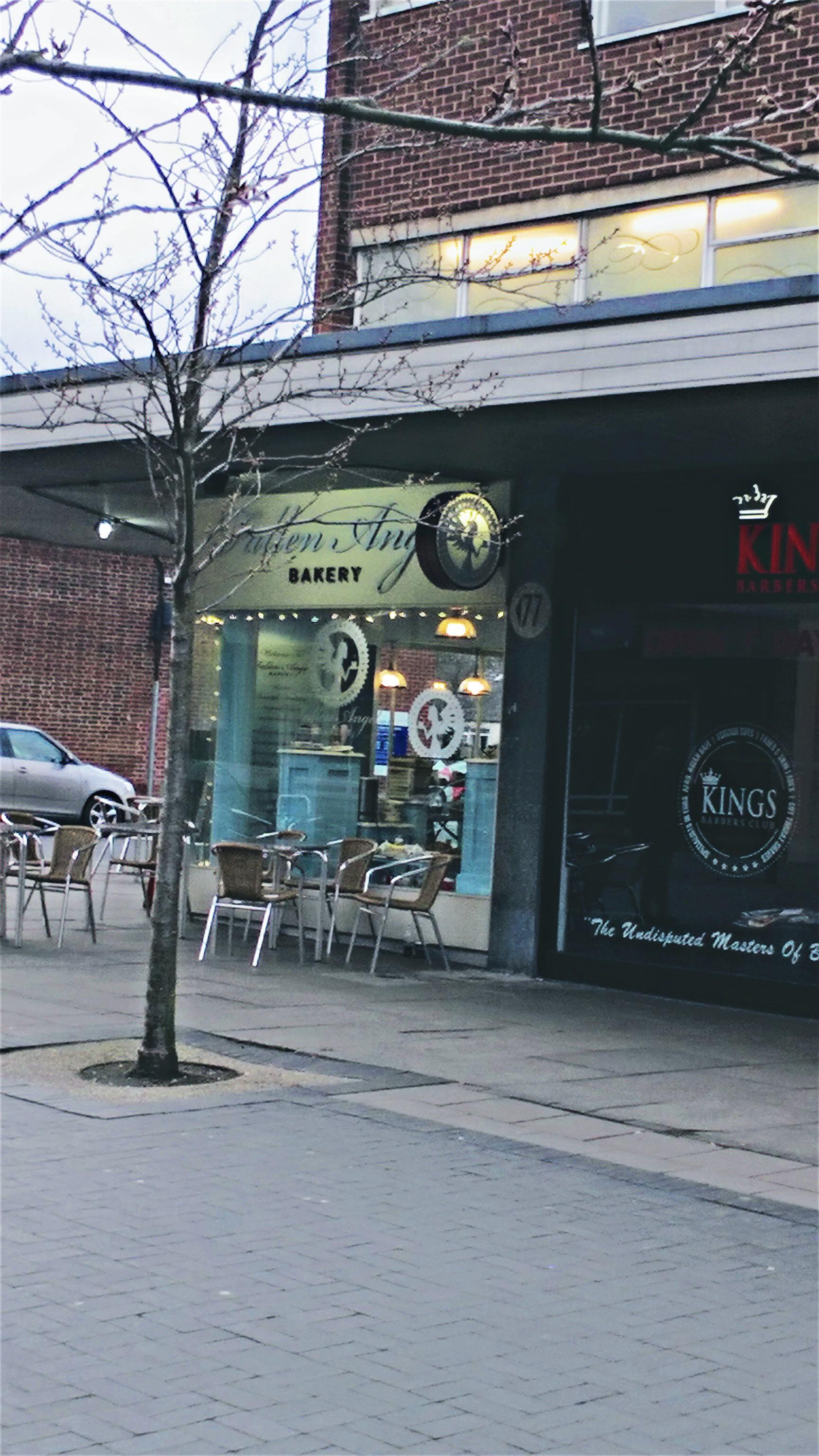 Pocket Number 1: The Fallen Angel Bakery, Harbone High Street
